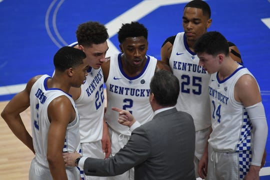 John Calipari and Kentucky have a lot on the line in Saturday's game vs. Florida.