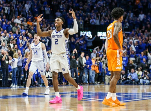 Uk Basketball Uk Vs Tenn: Kentucky Basketball: Dominating Tennessee Sends A Message