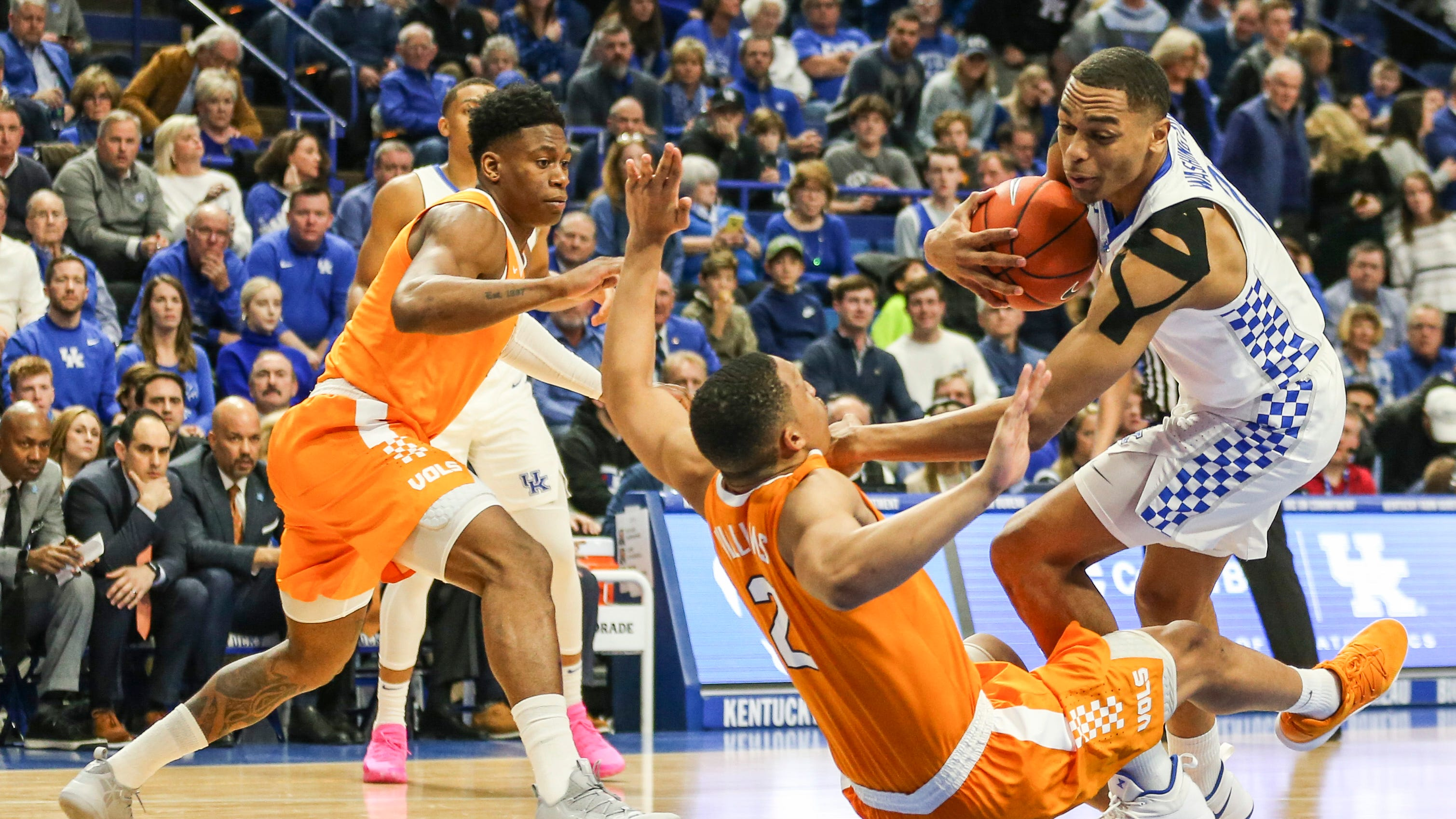 Uk Basketball Uk Vs Tenn: Tennessee Vols Vs Kentucky: On Twitter, Fans Remain