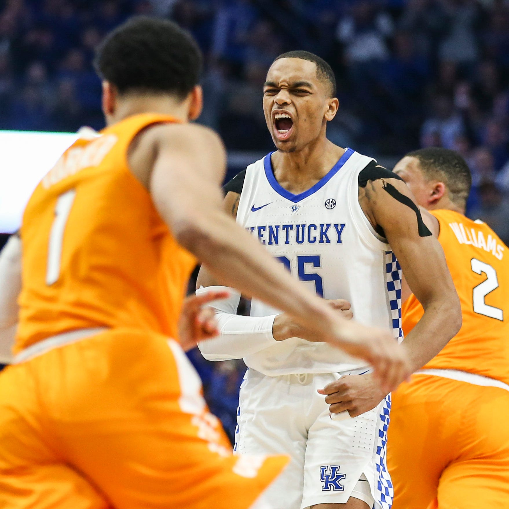 Kentucky basketball destroys UT Vols' night, but not their ultimate pursuit
