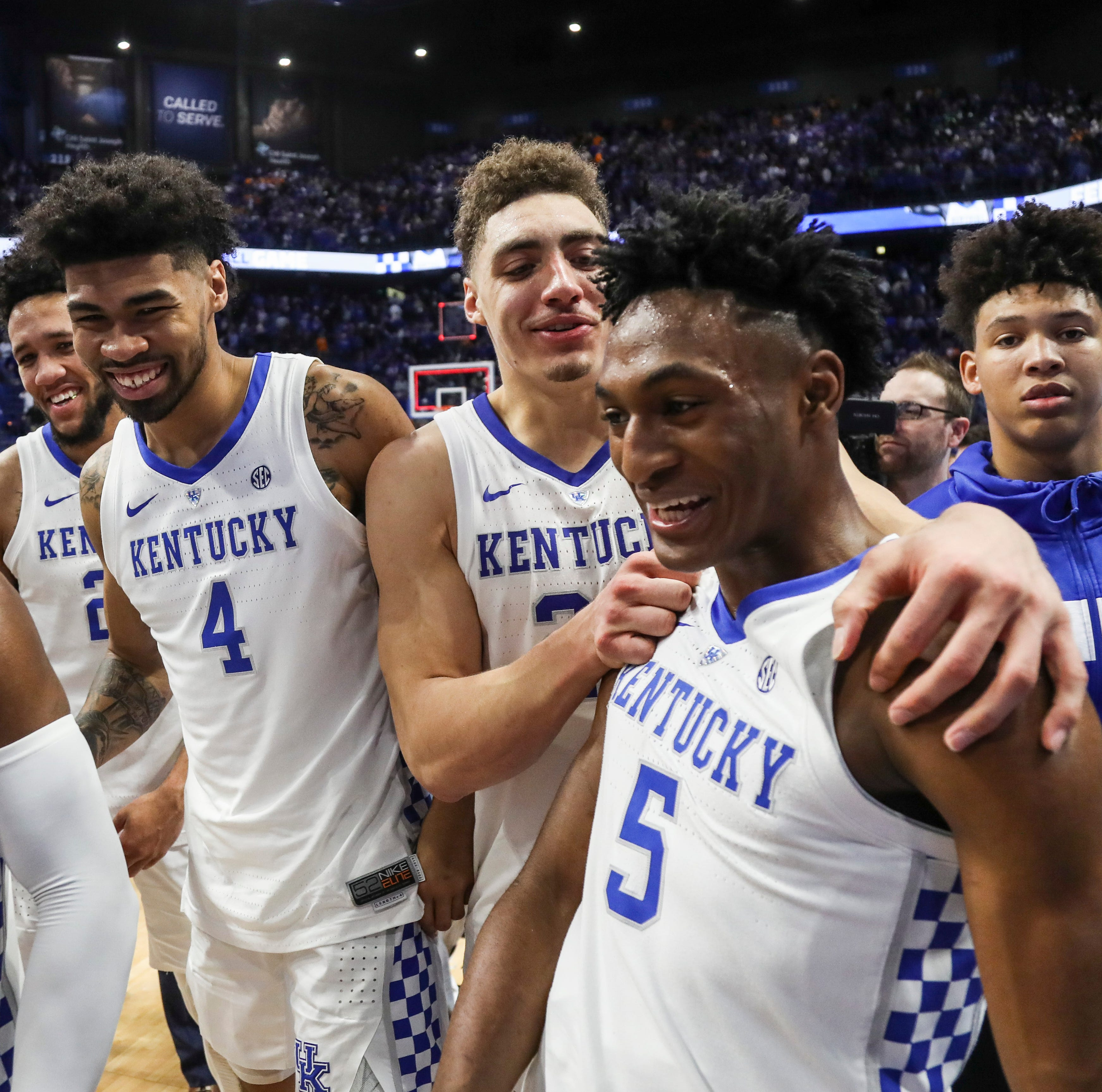 Kentucky basketball's team was supposed to be among the best. Now it is