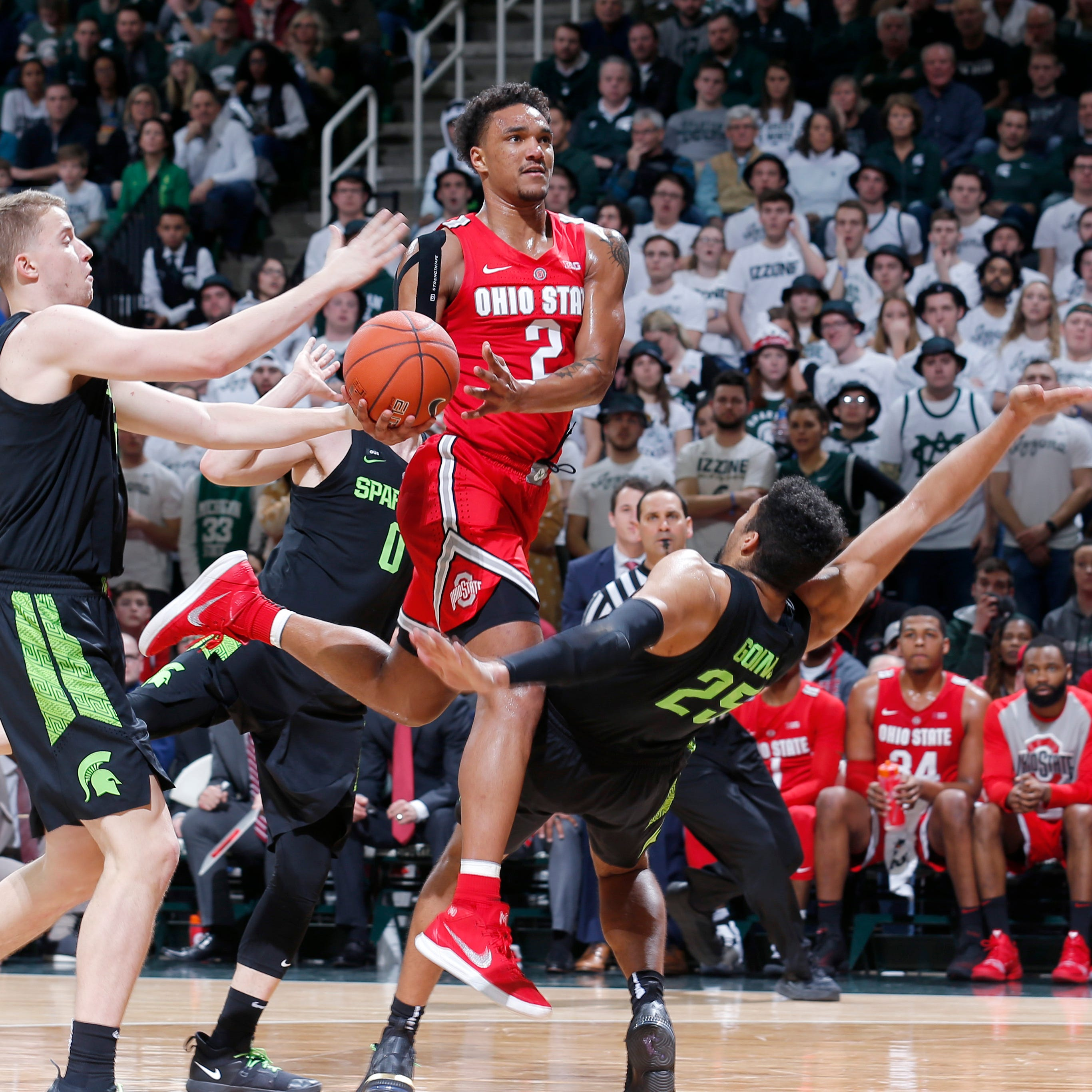 Couch: 3 quick takes on Michigan State basketball's strange win over Ohio State