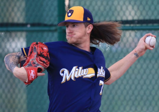 Reliever Josh Hader often would pitch multiple innings for the Brewers.