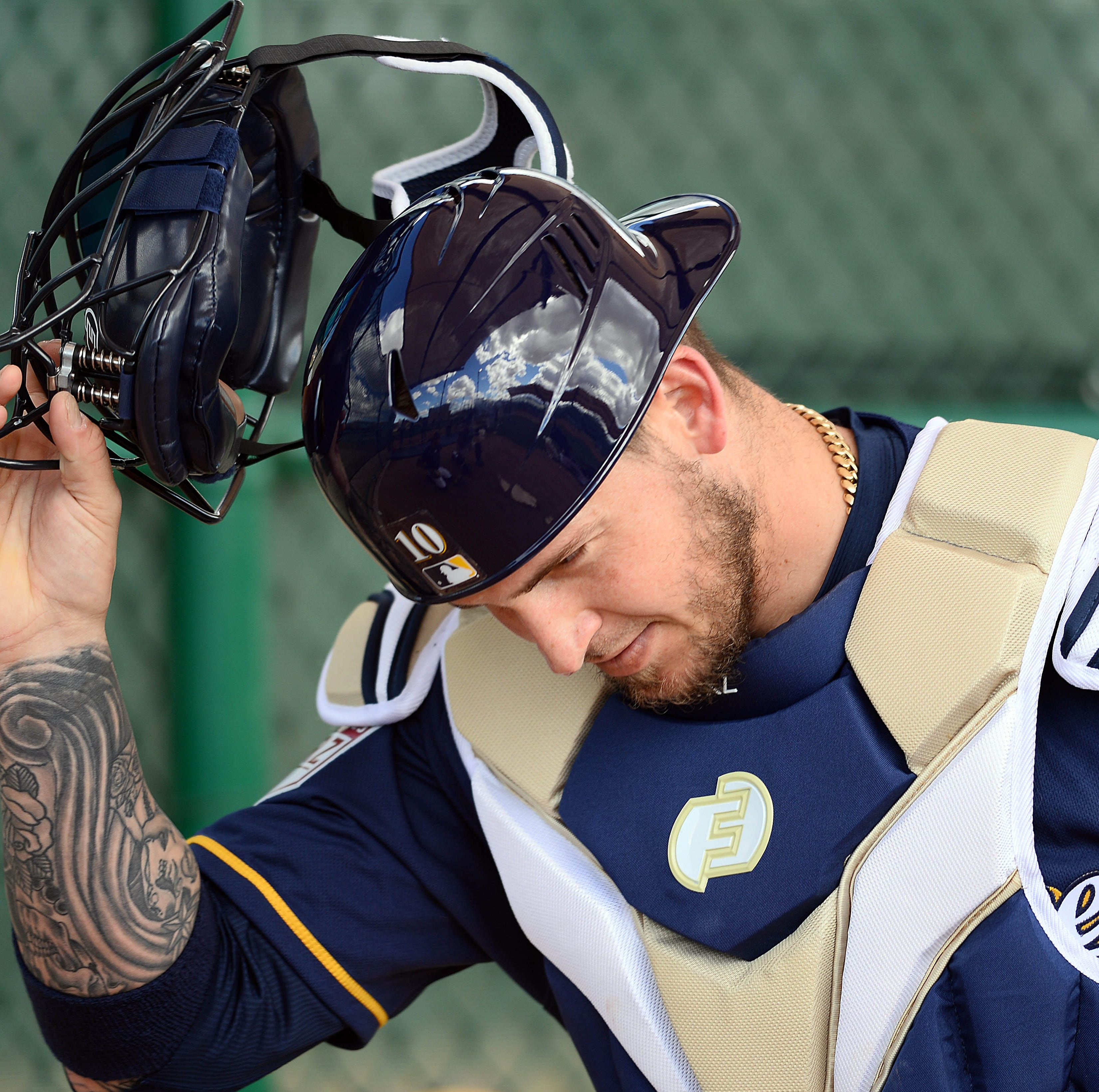 Yasmani Grandal puts his money where his mouth is when it comes to catching equipment