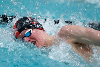 State swimming tournament and basketball highlights.