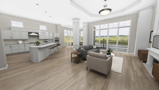 Revery Point's condos range from 1,370 to more than 2,660 square feet. Initial prices for a two-bedroom unit begin at $375,000 and at $550,000 for three-bedrooms. Penthouses are $800,000.