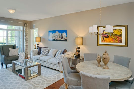 Gatherings at Indian Lake condos will have from 1,500 to 2,000 square feet of living space. Prices are in the $300,000s. This photo is of a similar Beazer condominium.
