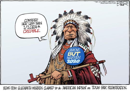 elizabeth warren's Indian claim
