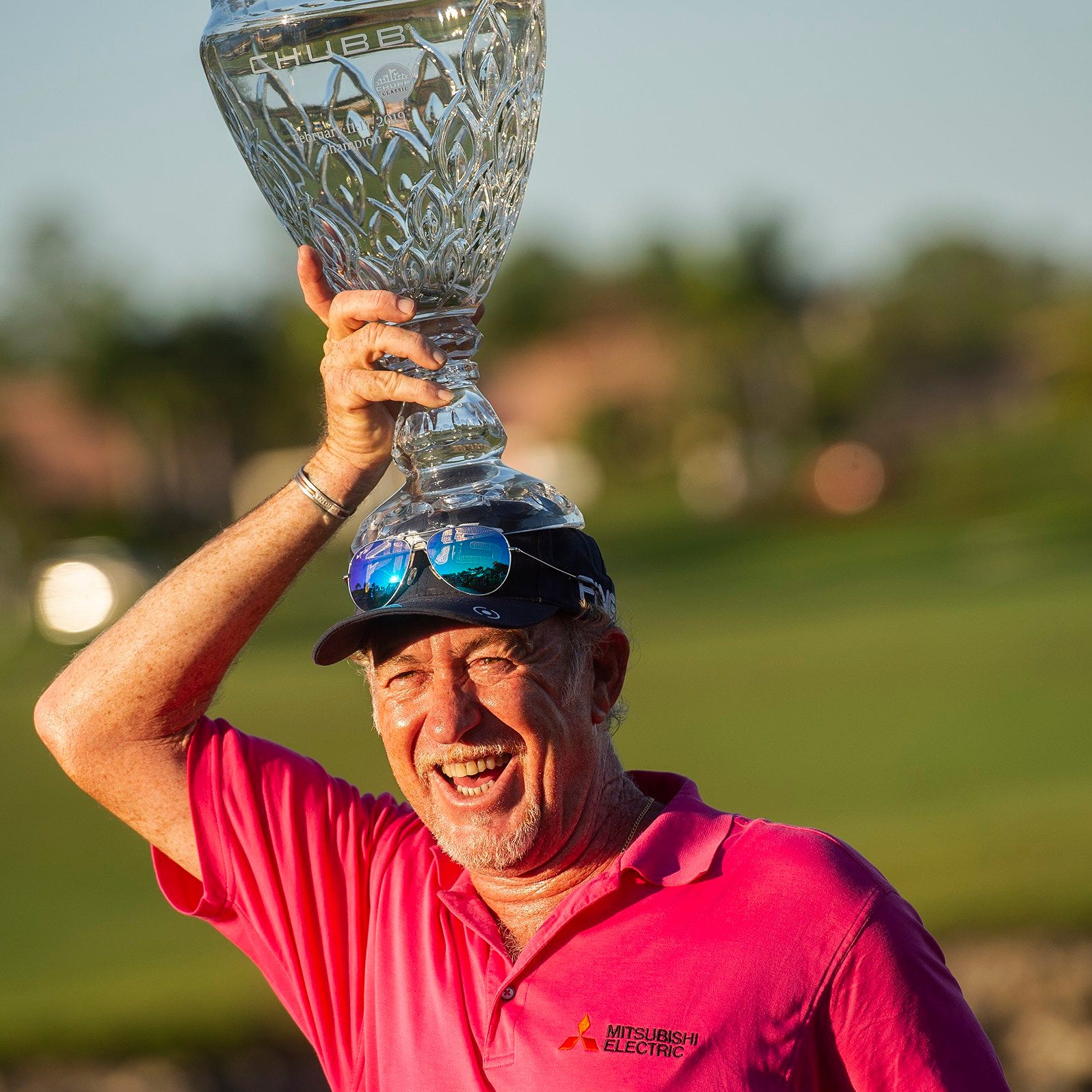 Chubb Classic: Miguel Angel Jimenez beats Bernhard Langer, Olin Browne in playoff