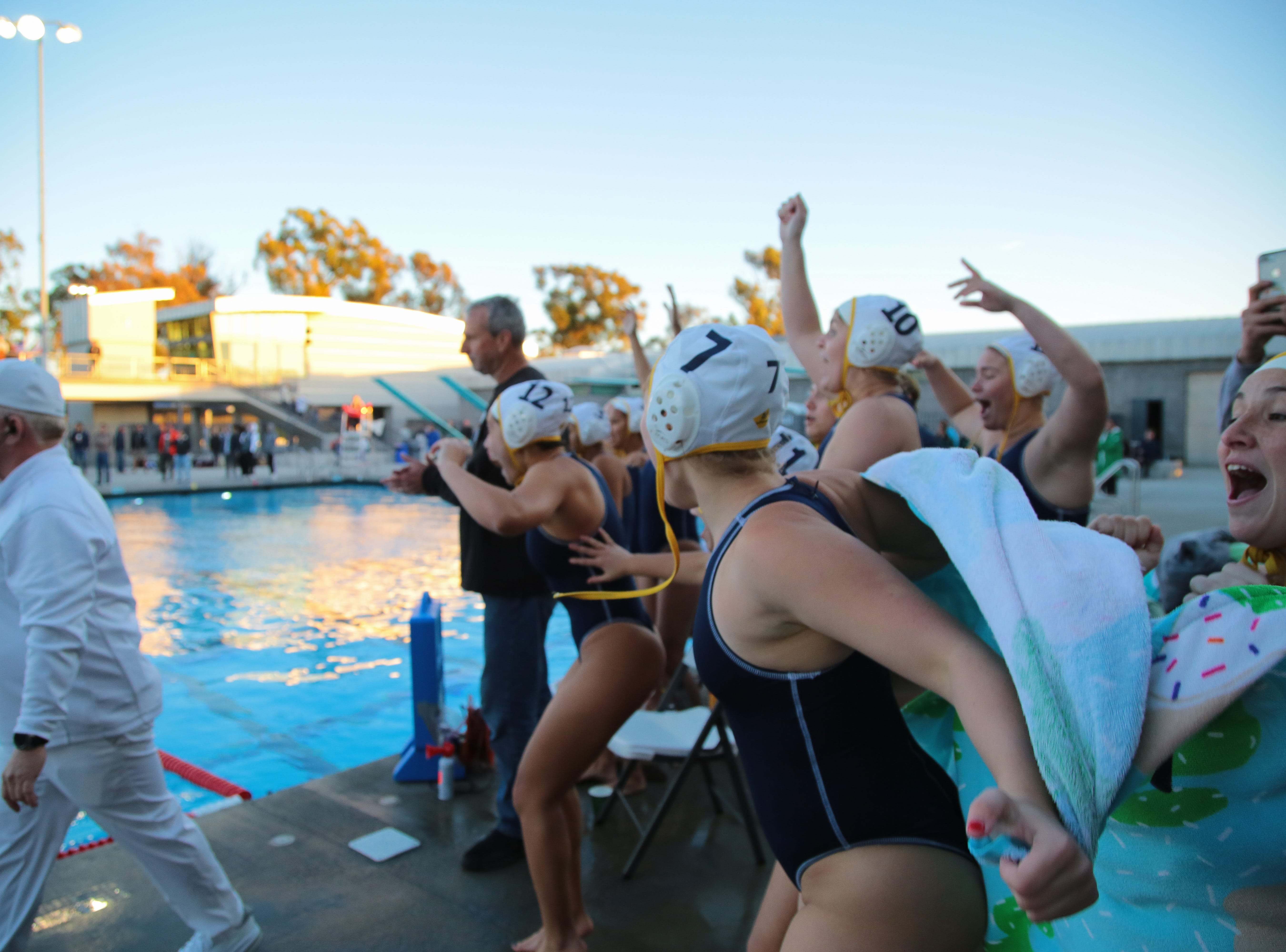 La Quinta water polo wins the CIF Southern Section Division 4 championships, Irvine, Calif., Saturday, February 16, 2019.