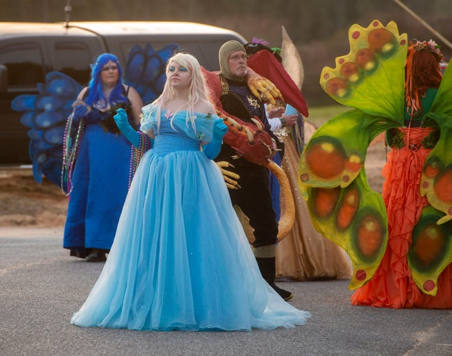 Milton held its inaugural Emerald Coast Krewe of Airship Pirates Milton Mardi Gras Parade last year. This year's parade gets started on Saturday.