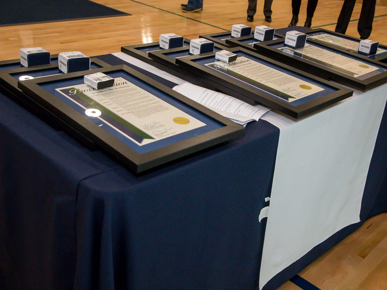 Previous Pensacola State College athletes, coaches, advisors and more, including two posthumously, were honored during Pensacola State College's inaugural Athletics Hall of Fame induction ceremony on Saturday, February 16, 2019, in the Hartsell Arena on the main campus.
