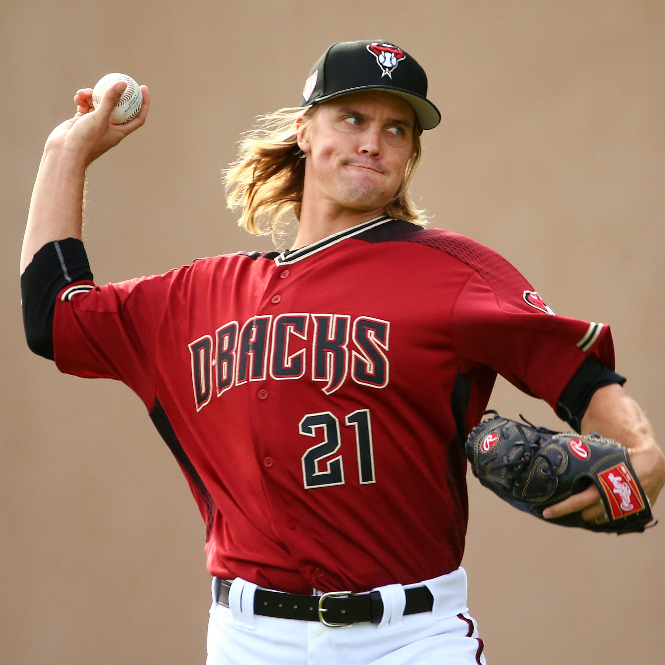 Zack Greinke likes being with Diamondbacks, doesn't like spring training