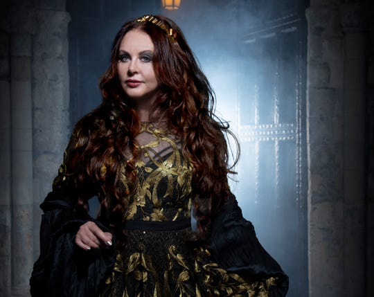 """There was a lot of discomfort, and I wanted to do something very uplifting,"" Sarah Brightman says of the origins of her latest album, ""Hymn."""