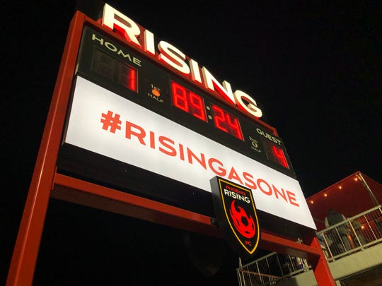Phoenix Rising fell to Real Salt Lake in a preseason match.