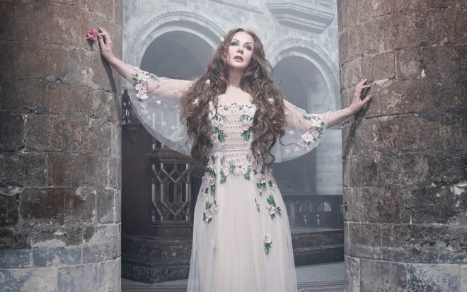 """Sarah Brightman's albums are known for their imaginative themes. That goes for her latest, 2018's """"Hymn."""""""
