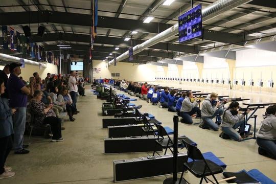 Hundreds of cadets, coaches and spectators visited the Gary Anderson CMP Competition Center at Camp Perry for the 2019 JROTC Service Championships this past weekend.