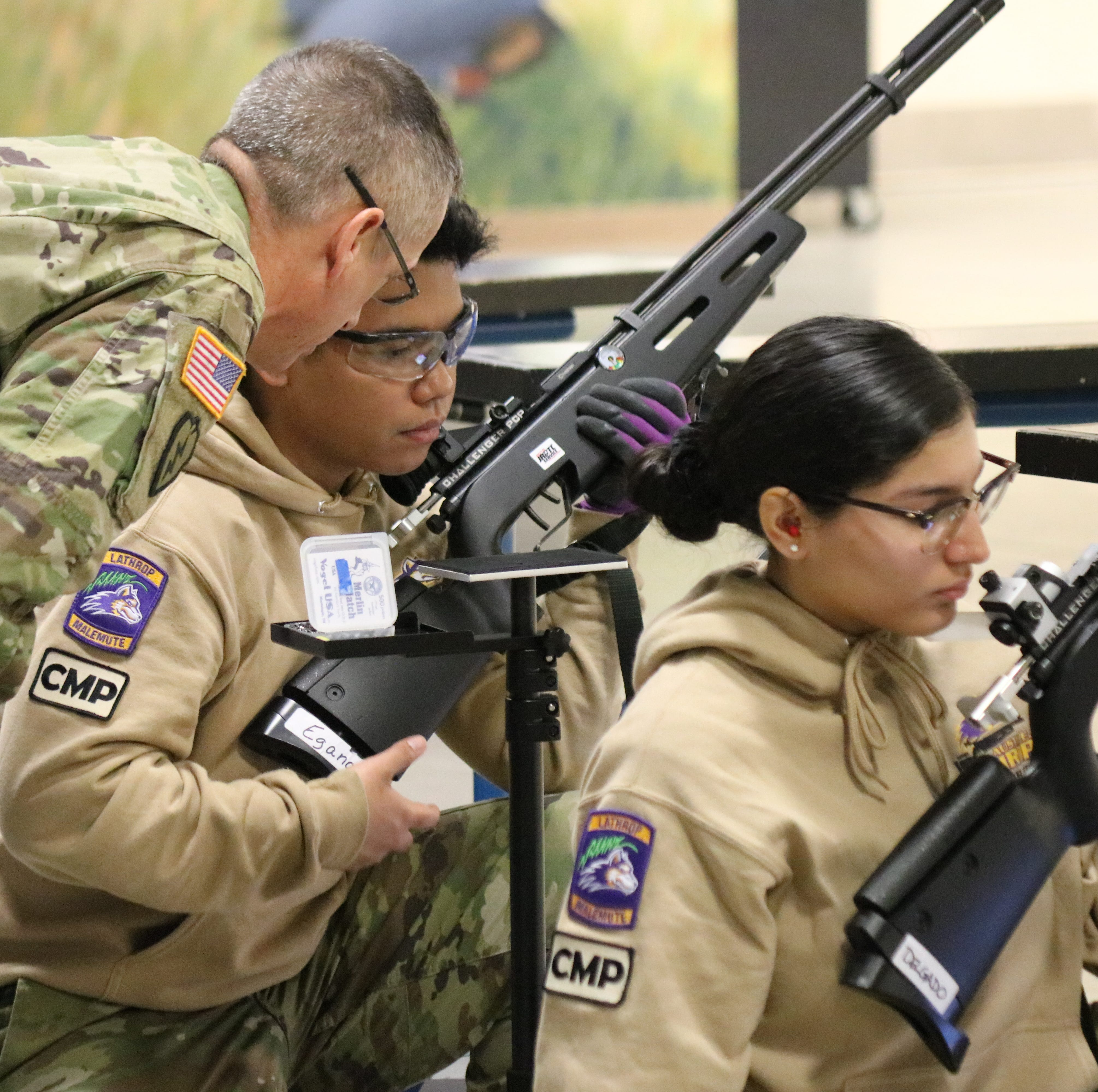 Cadets set sights on air rifle national championships