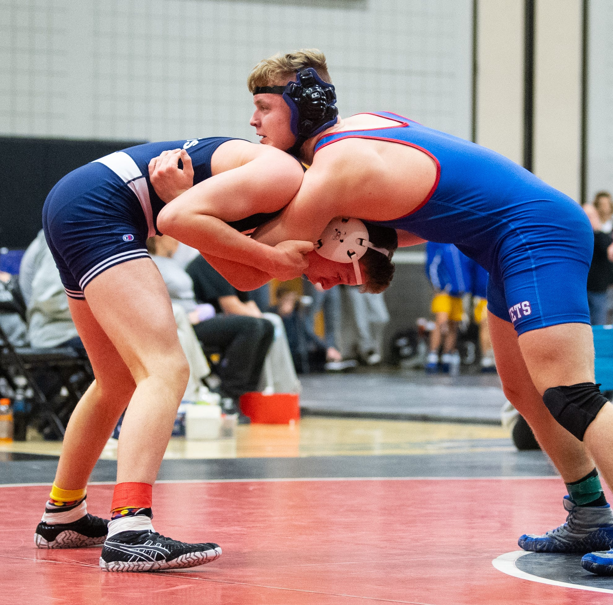 A year after quitting wrestling, Spring Grove's Eric Glass wins title at sectionals