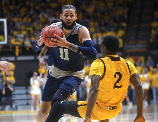 Cody Martin and Nevada had no trouble bowling over AJ Banks and Wyoming on Saturday night.
