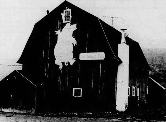 The Purple Pig pictured in November 1972