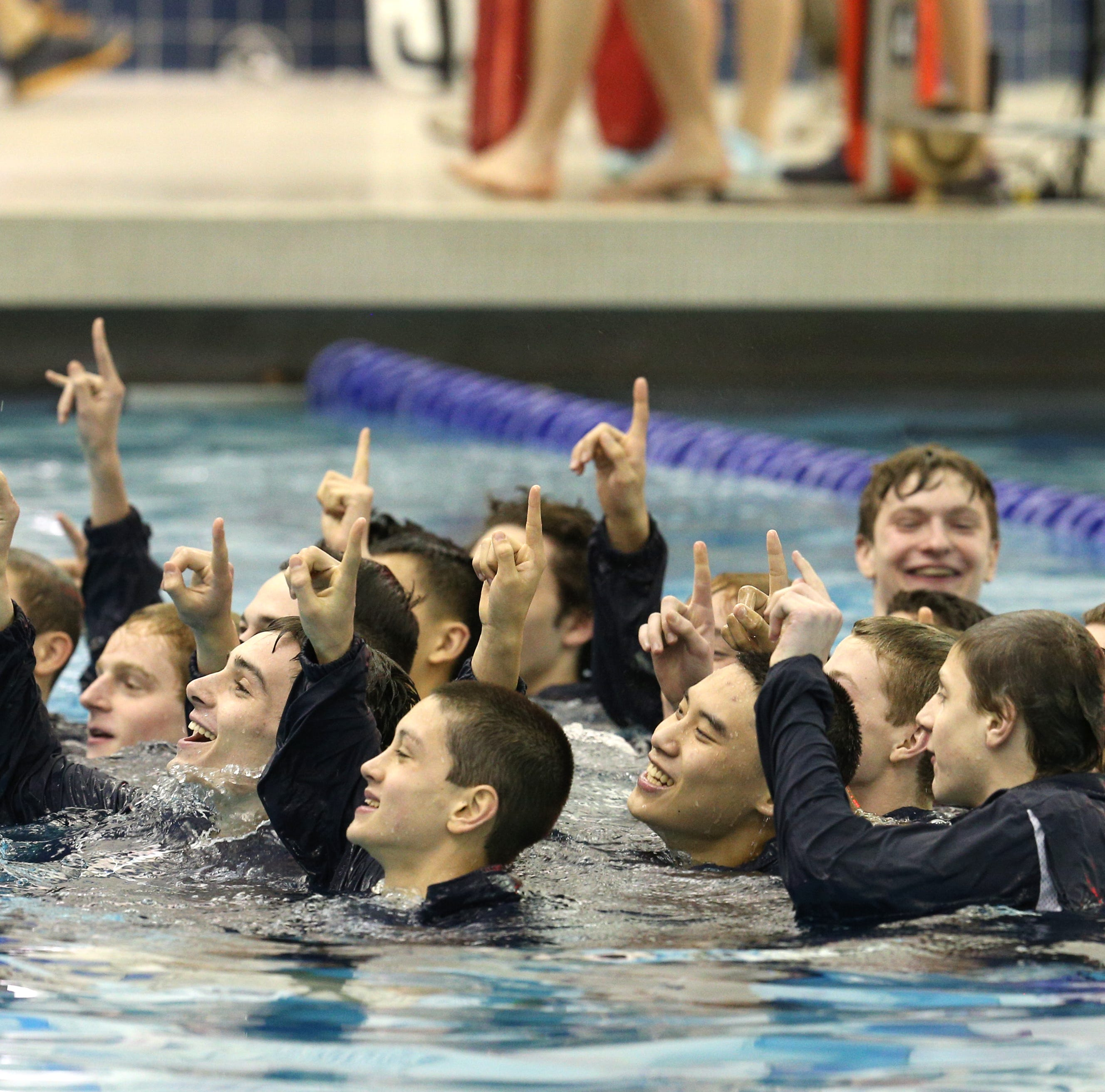 Pittsford takes home 17th consecutive Class A boys swimming title
