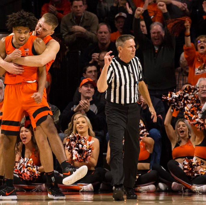 Oregon State basketball sweeps Oregon Ducks