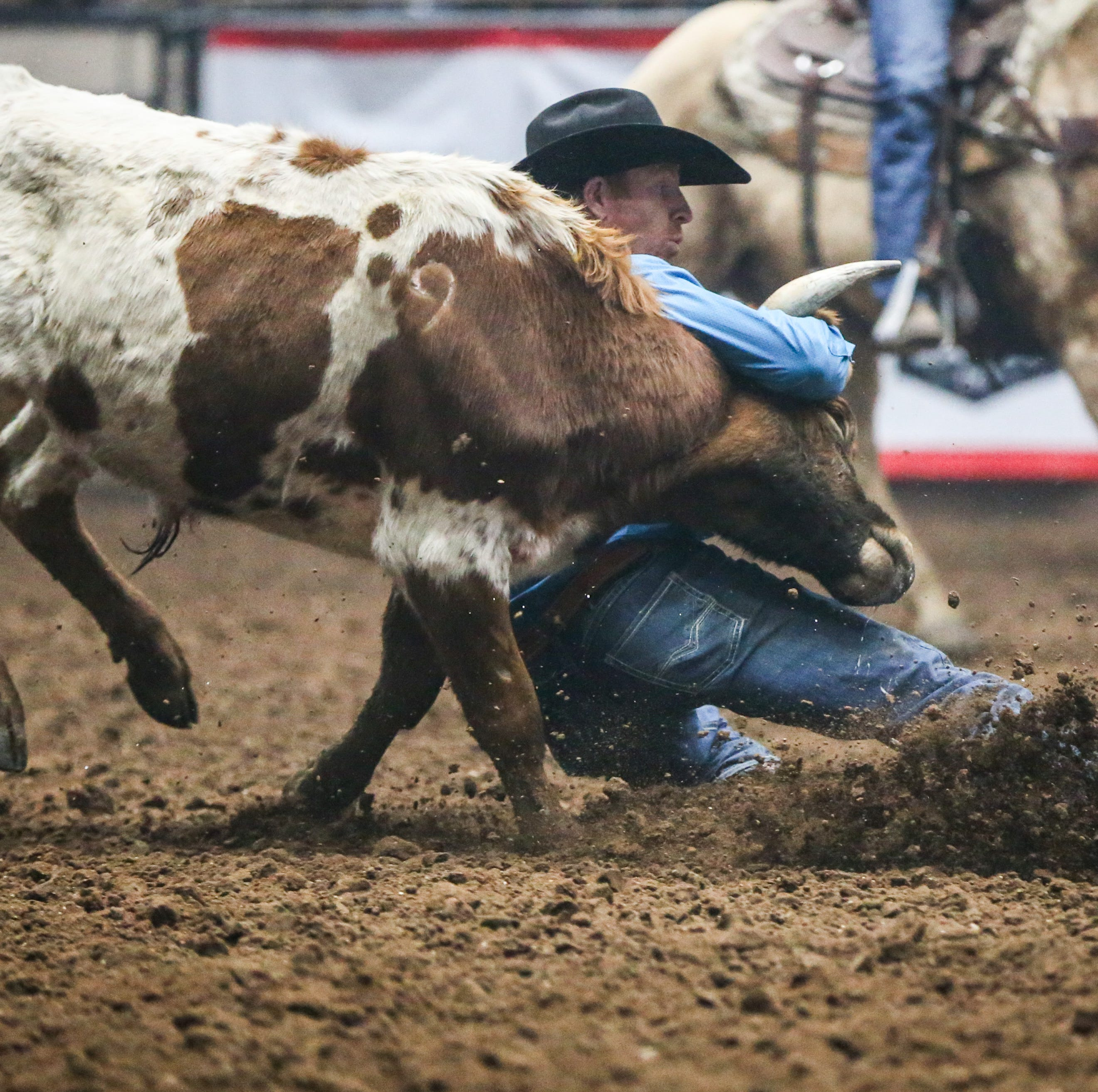 First-timer wins steer wrestling at San Angelo's Cinch Chute-Out