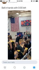 A since-deleted Twitter post shows Howards Grove's Blake Pedrin may not have gotten off his game-winning shot against Sheboygan Lutheran in the Big East championship game before time ran out.