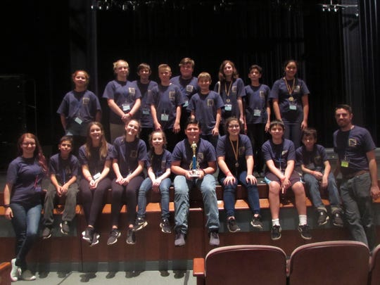 Trinity Catholic School's Jr. Thespian Troupe received Superior ratings at state.