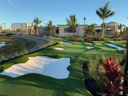 PopStroke in Tradition is a golf entertainment facility where technology meets miniature golf without the windmills.