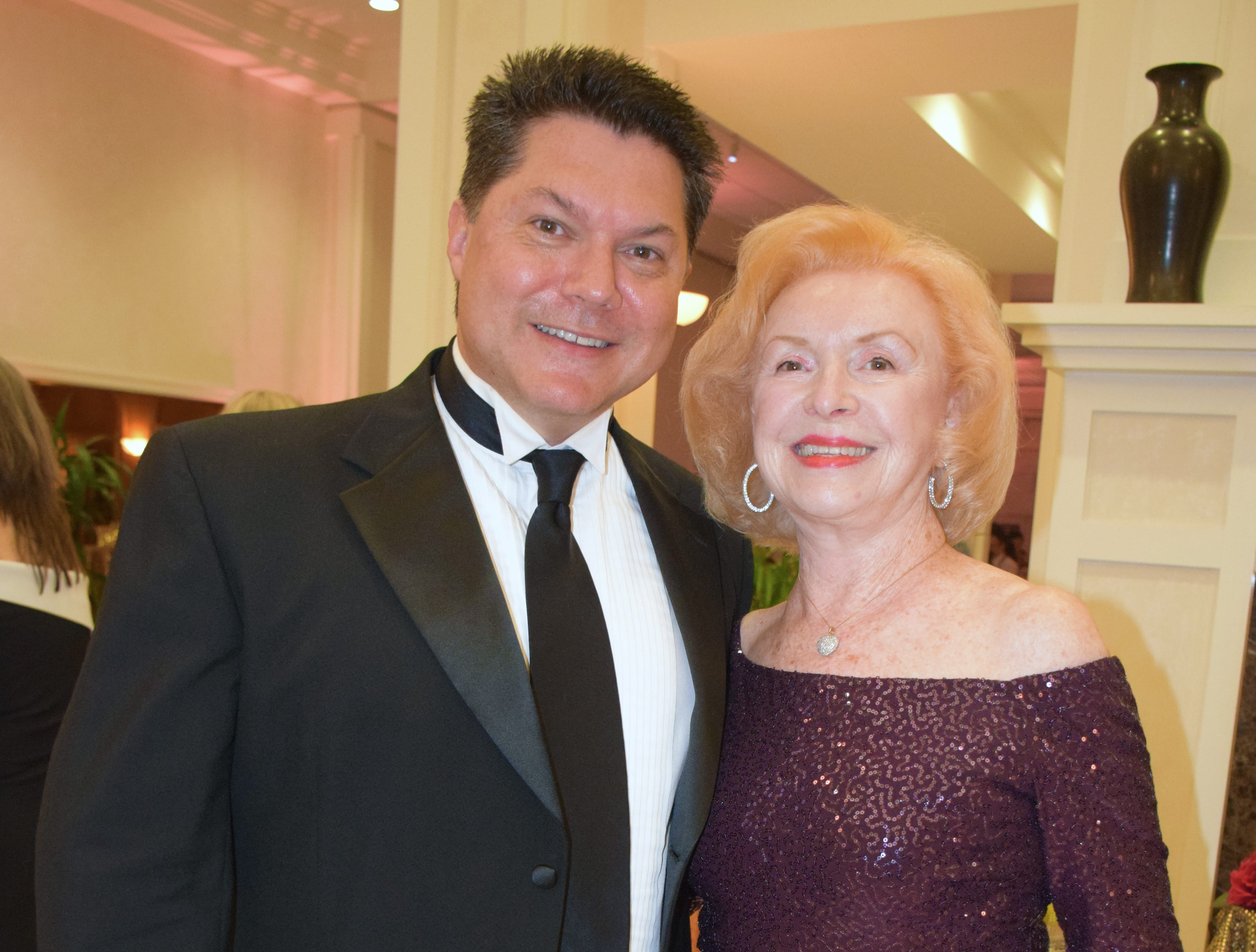 Geoff Moore and June Bercaw