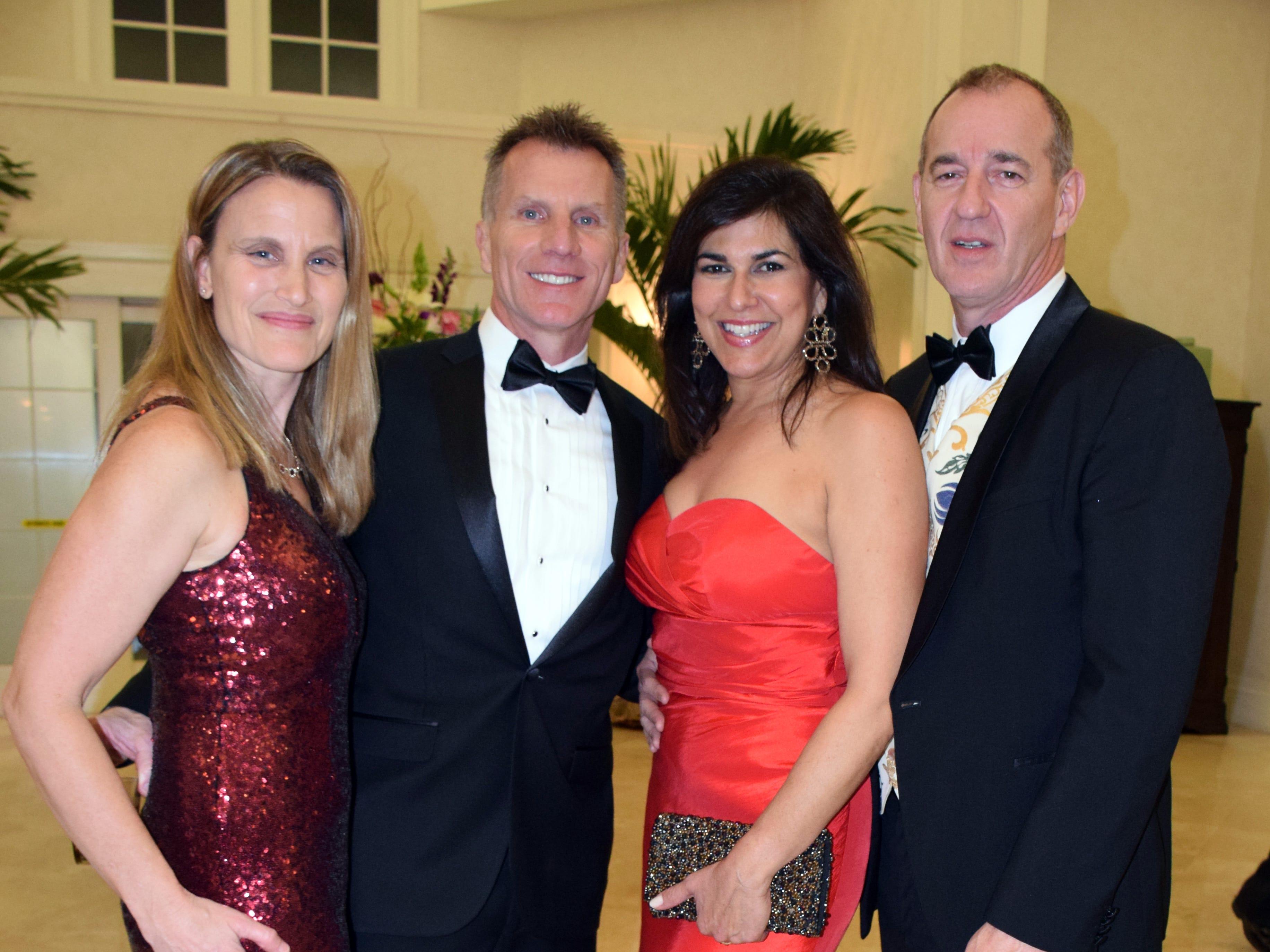 Mike & Judy Stork and Raquel Tilton & Simon Jenkins