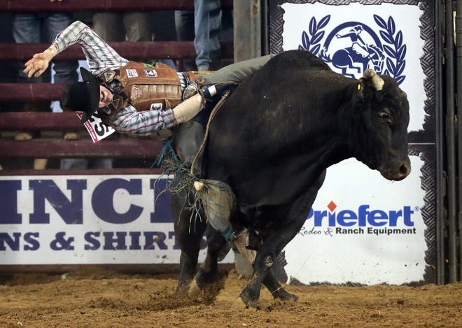 The Tuff Hedeman Tour stopped in El Paso to the delight of the sold-out crowd at the El Paso County Coliseum last year. Cody Rostockyj of Lorena, TX won the event and a $20,000 paycheck.