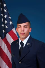 U.S. Air Force Reserve Airman 1st Class Jayson R. Burgos