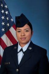U.S. Air Force Reserve Airman 1st Class Jennifer Sanchez