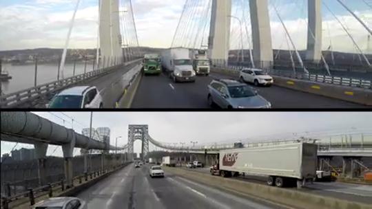 More trucks are using the Mario M. Cuomo Bridge instead of the George Washington Bridge