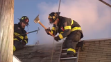 Raw Video: Early morning fire at vacant building in Wilmington