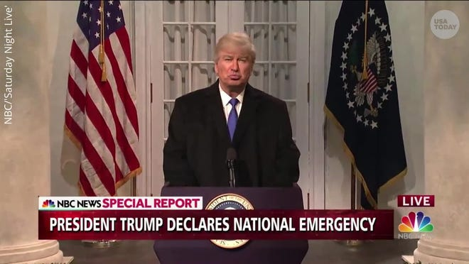 Usa News Live >> Baldwin Returns To Snl To Mock Trump S Press Conference