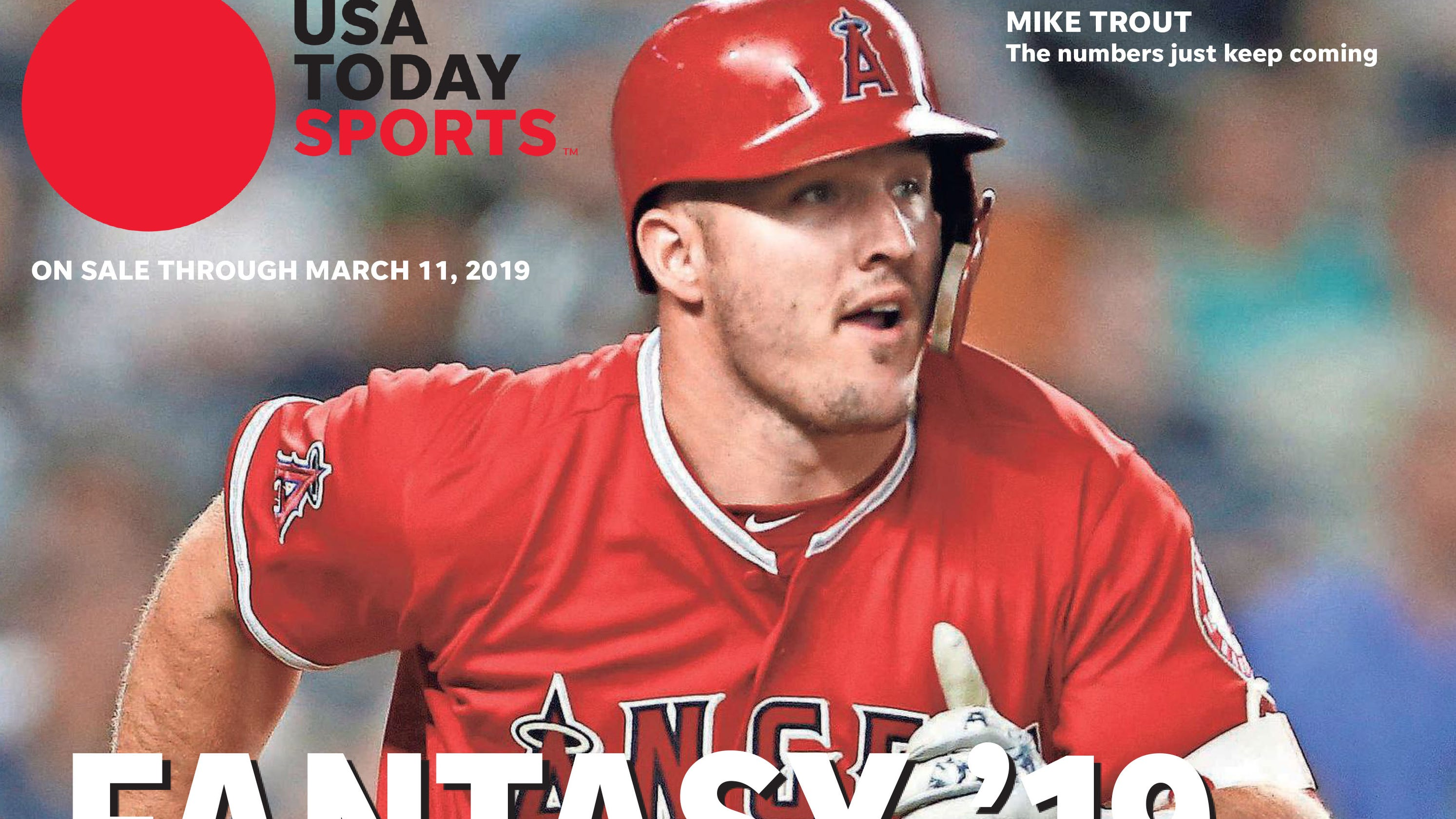 35512c87b Fantasy baseball rankings  Mike Trout leads 2019 s top 200