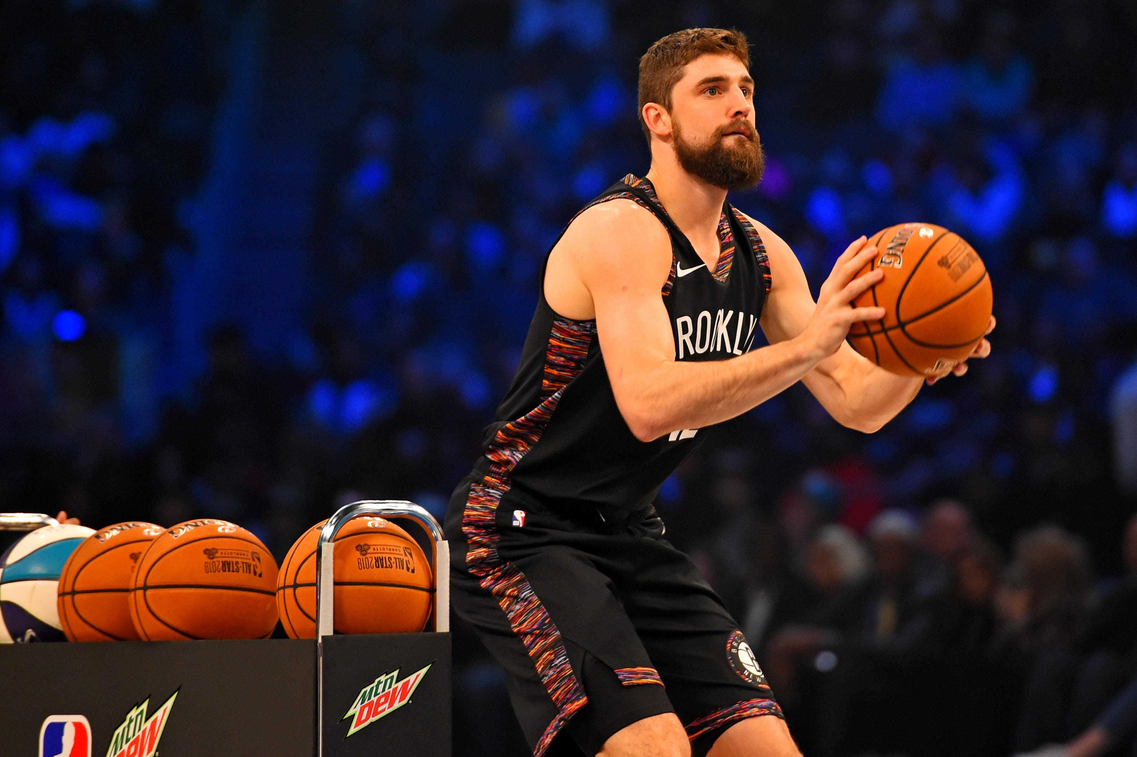 Joe Harris steals the show, takes down Stephen Curry to win 2019 3-Point Contest