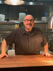 Chef Jim Vena in the kitchen of Coal House Bistro in Point Pleasant Beach.