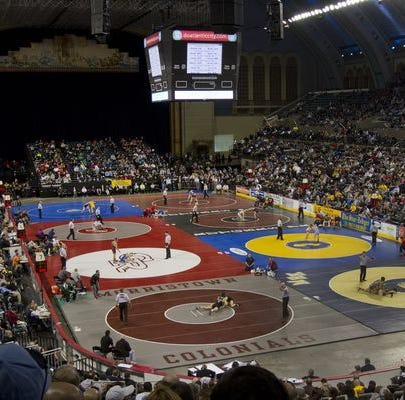 NJ wrestling: NJSIAA Region V-VIII  tournament pairings