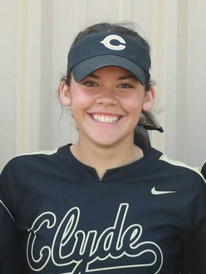 Clyde junior Kaitlyn Turner