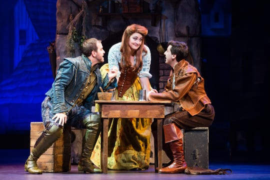 """""""Something Rotten!"""" takes audiences back to the 16th century, when Shakespeare ruled and musical were ... unheard of."""
