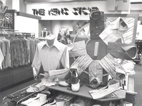 An archival image of the Sears store in the Mall of Abilene.