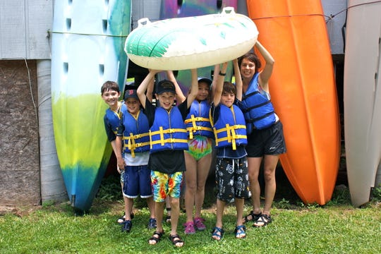 RiverLink's French Broad River Camp teaches environmental lessons with river recreation, too.