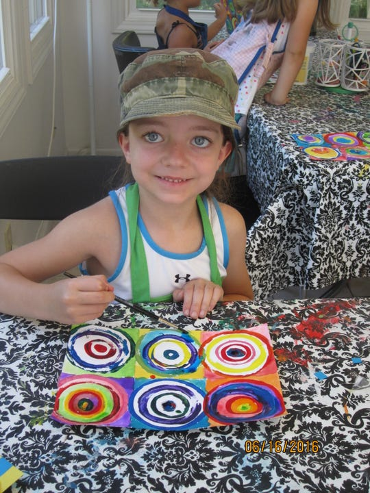 Molly Angel's art camps in Fletcher are for age 4 through rising seventh-graders.