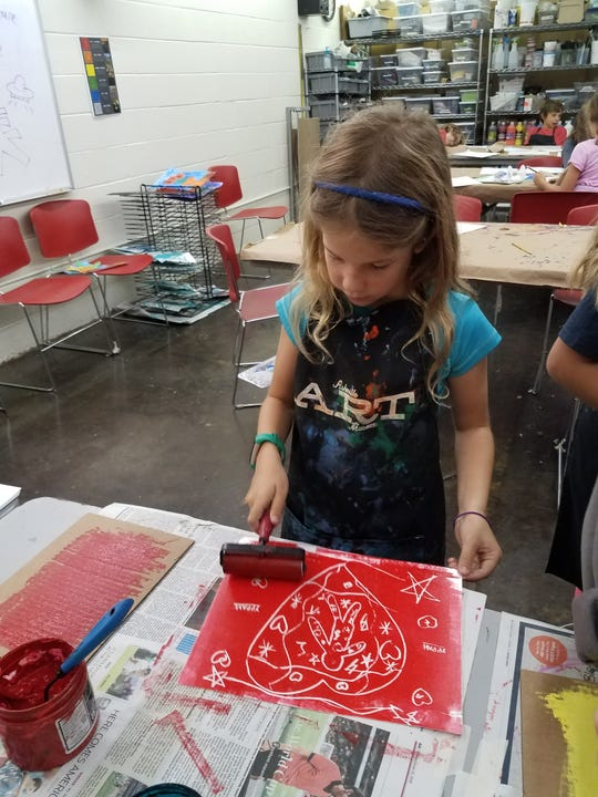 Asheville Art Museum hosts summer camp for grades K-12.