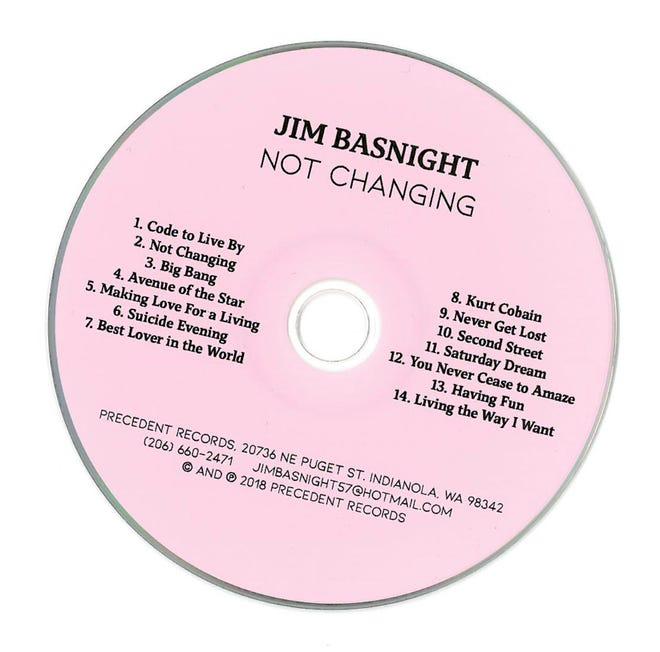 """Not Changing,"" by Jim Basnight"